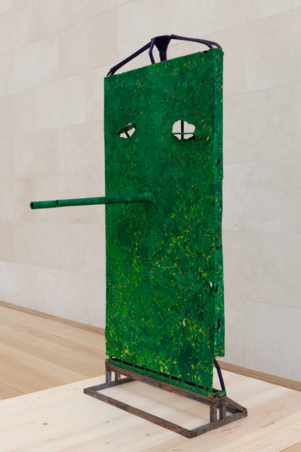 , 'Untitled (Green over Yellow, Lily, Gated Mask M24.a),' 2012-2013, Nasher Sculpture Center