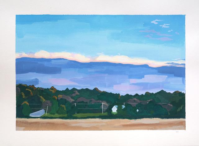 , 'Cloud Bank,' 2018, Wally Workman Gallery