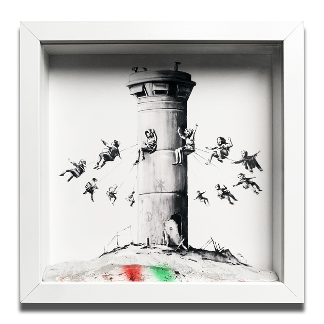 Banksy, 'Walled of Hotel Boxset', 2017, Oliver Clatworthy Gallery Auction