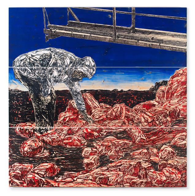 Orit Hofshi, 'Scaffold', 2017, Zemack Contemporary Art