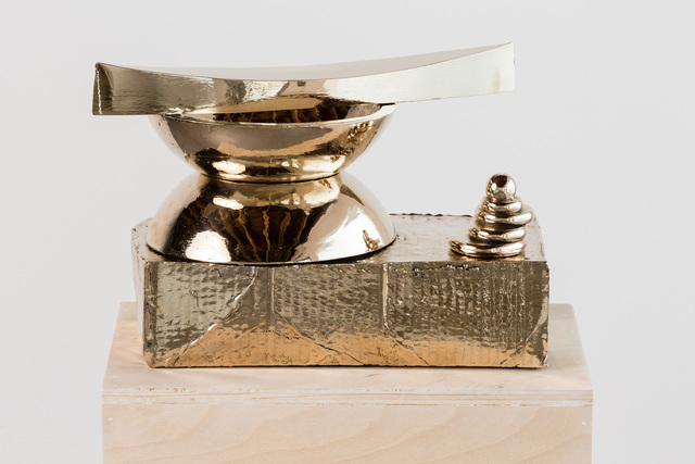 , 'Boat, bowls, box, stack,' 2015, Anat Ebgi