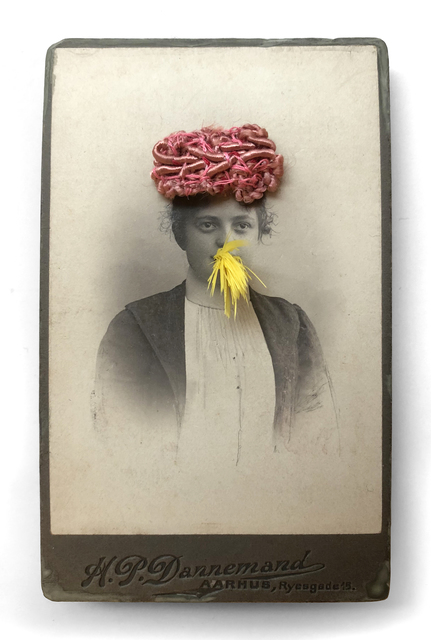 , 'Woman in a Pink Hat Eating a Canary Nº3,' 1997, Laurence Miller Gallery