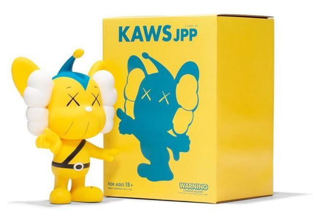 KAWS, 'JPP (Yellow)', 2008, Dope! Gallery