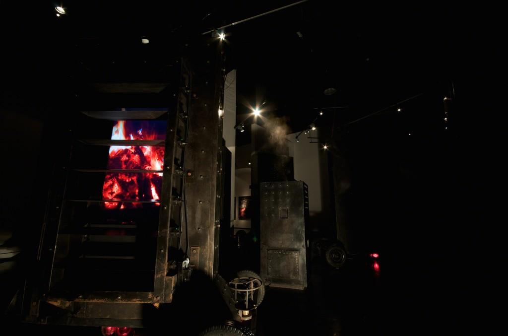 Installation view: Chittrovanu Mazumdar, undated Nightskin, 2009