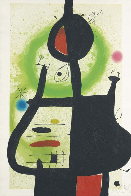 Joan Miró, 'La Sorcière', 1969, Christie's