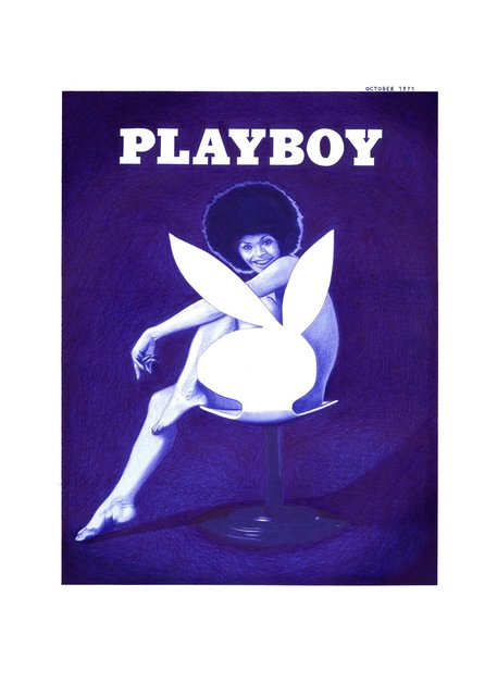 , 'Playboy Cover October 1971,' 2016, Acid Gallery