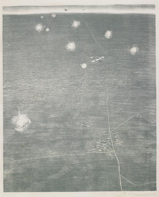 , 'Over the Lines,' 1918, Osborne Samuel
