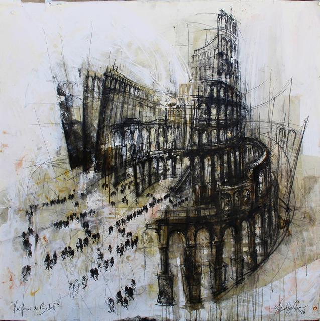 , 'Huérfanos de Babel,' 2016, Victor Lope Arte Contemporaneo