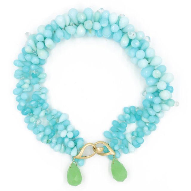 , 'Chalcedony Opal Necklace,' , form & concept