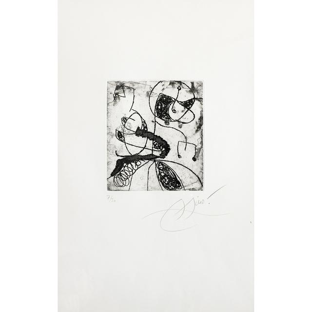 Joan Miró, 'Les Saltimbanques, Plate I', 1975, PIASA