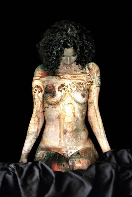 , 'MADONE RUINEE,' 2009-2011, Mark Hachem Gallery