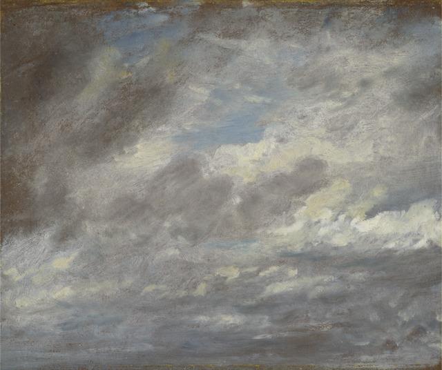 John Constable, 'Cloud Study', ca. 1821, Yale Center for British Art