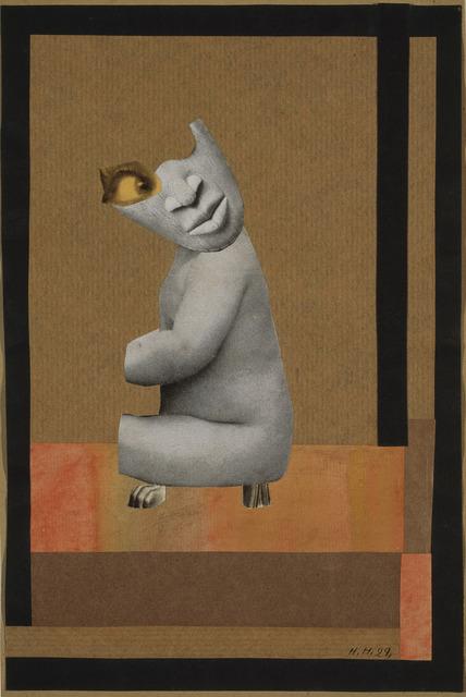, 'Aus der Sammlung: Aus einem ethnographischen Museum (From the Collection: From an Ethnographic Museum)  ,' 1929, Whitechapel Gallery
