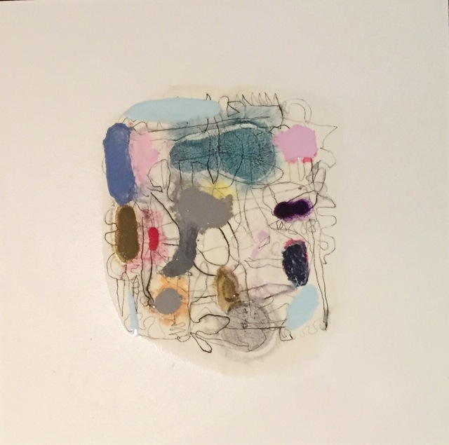 , 'Map (Madder & Blue),' 2018, Bartley + Company Art
