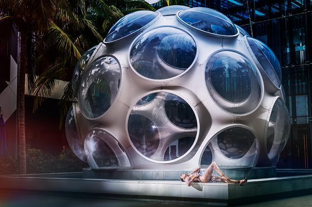David Drebin, 'Outside the Bubble (Miami Design District)', 2018, CHROMA GALLERY