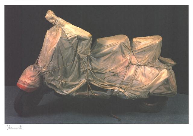 Christo, 'Wrapped Vespa', 2009, ArtWise