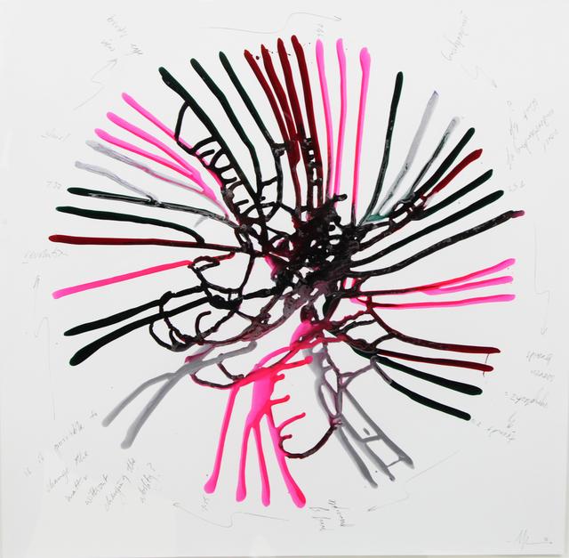 , 'Underlying, Whirl, Revolution, Trends,' 2014, Alberta Pane