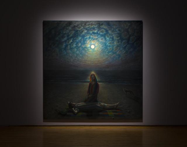 , 'Fire Island Moonrise,' 2018, MASS MoCA