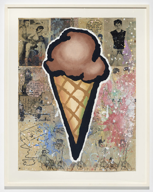 , 'Brown Cone,' 2010, The Hole
