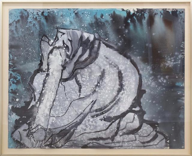, 'Drapery Study (after Degas),' 1992, C. Grimaldis Gallery