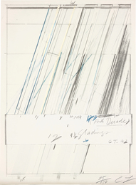 Cy Twombly, 'Untitled,' 1973, Phillips: Evening and Day Editions