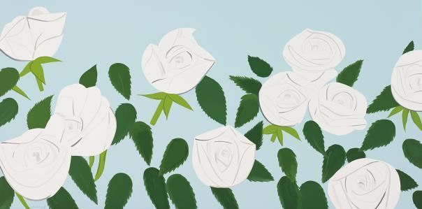 , 'White Roses,' 2014, Sims Reed Gallery