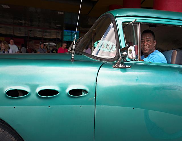 , 'Green Buick Taxi,' , Soho Photo Gallery