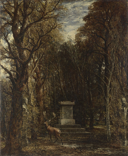 , 'Cenotaph to the Memory of Sir Joshua Reynolds,' 1833-1836, The National Gallery, London