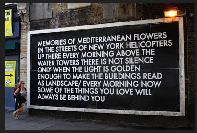 Robert Montgomery, 'Old Street Billboard 4', 2012, Mannerheim Gallery