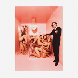 David LaChapelle, 'Joel West and Nudes in Plexiglas Boxes, New York,' 1995, Wright: Prints + Multiples (January 2017)