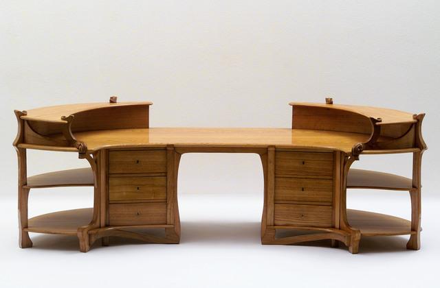 , 'Schreibtisch, Brüssel, 1898 Ausführung: Portois & Fix,' 1898, MAK – Austrian Museum of Applied Arts / Contemporary Art