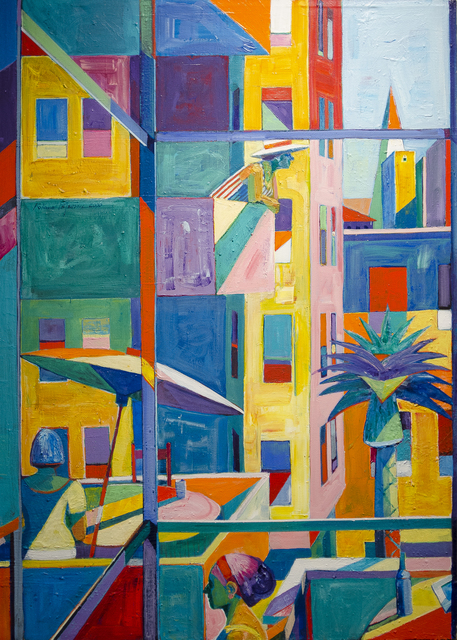 , 'City Windows 2,' 2000, Studio Shop Gallery