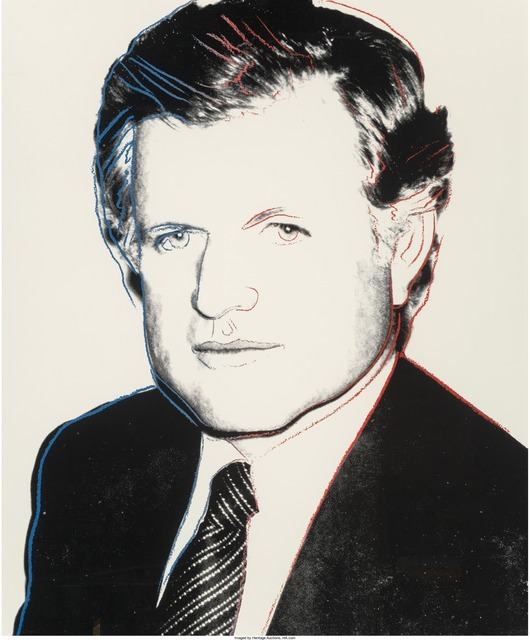Andy Warhol, 'Edward Kennedy', 1980, Print, Screenprint in colors with diamond dust on Lenox Museum Board, Heritage Auctions