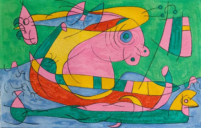 Joan Miró, 'The Return Journey III, from: Series for King Ubu', 1966, Gilden's Art Gallery