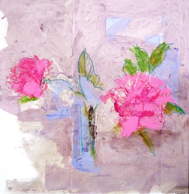 , 'Farm Peonies,' 2017, Cerulean Arts