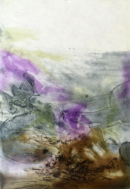 Zao Wou-Ki 趙無極, 'Composition VII, from: Canto Pisan', 1972, Gilden's Art Gallery