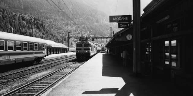 , 'Modane Train Station,' 1993, TAG TheArtGallery