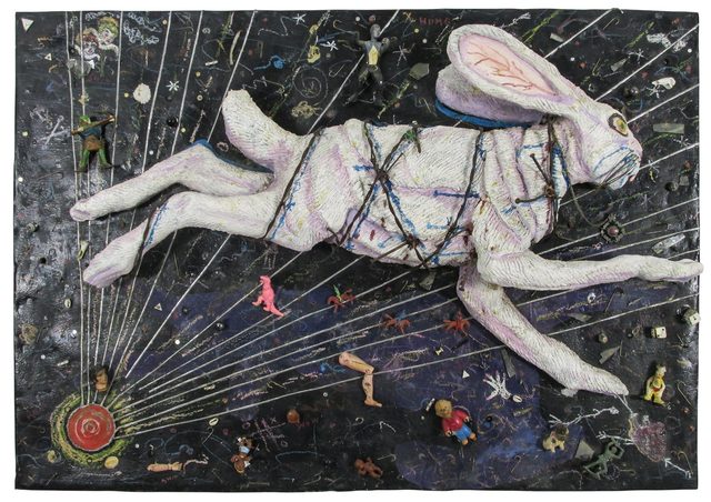 , 'Screaming Rabbit,' ca. 1988, JAYJAY