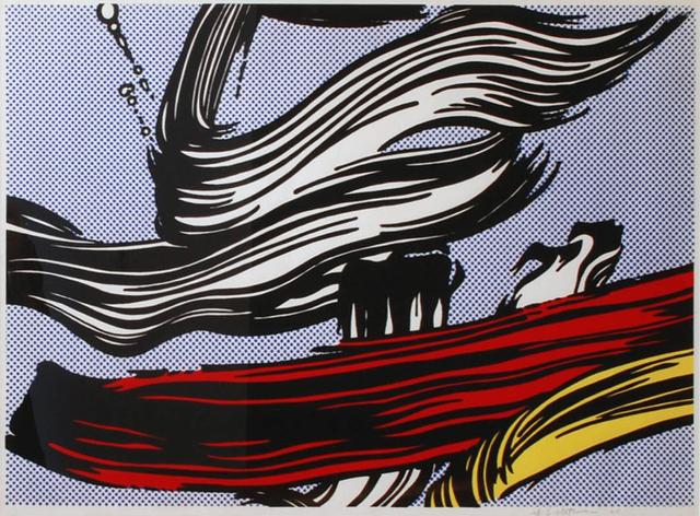 Roy Lichtenstein, 'Brushstrokes', 1967, Kunzt Gallery