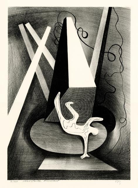 , 'Industrial Accidnet,' 1942, Keith Sheridan, LLC