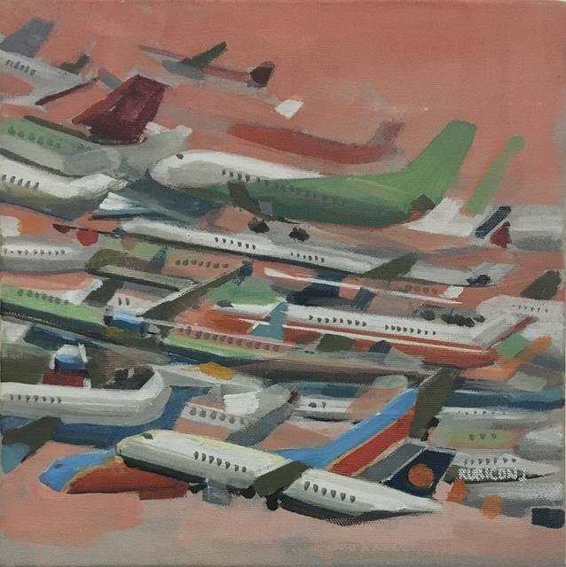 , 'Paper Planes II,' 2017, Deep Space Gallery