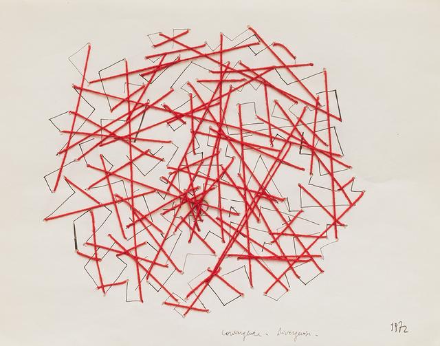 , 'Convergenze divergenze,' 1972, Repetto Gallery