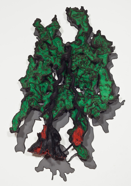 ", 'S/ Titulo - ""sombra verde"",' 2014, Marcia Barrozo do Amaral"