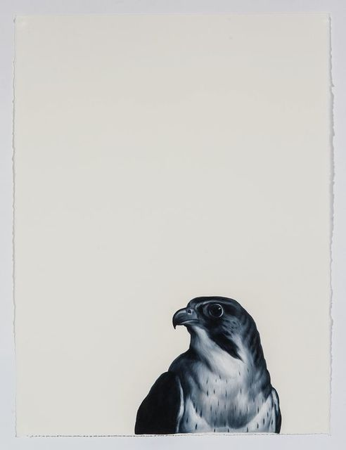 , 'Falcon (after Landseer),' 2016, Sears-Peyton Gallery
