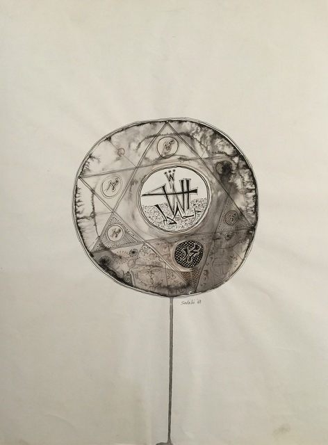 , 'Allah in Solomon's Seal,' 1969, Vigo Gallery
