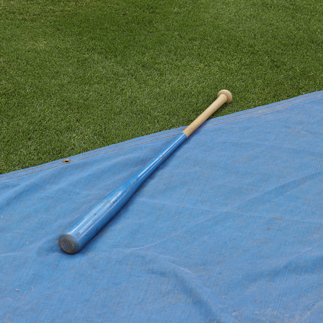 , 'Batting Practice (Bat and Tarp), Durham, NC,' 2013, Rick Wester Fine Art