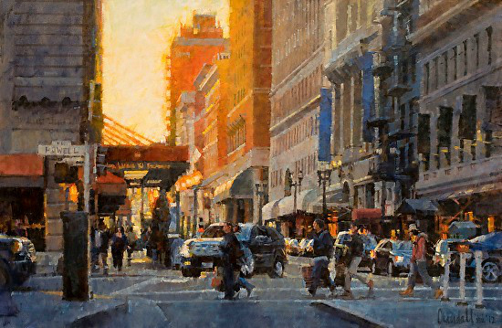 , 'Post Street and Powell, San Francisco,' 2015, Abend Gallery