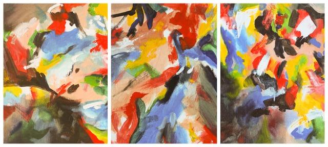 , 'Skin Study I, II & III (Triptych),' 2016, EBONY/CURATED