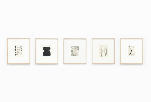 , 'Untitled, from the series Living smoke and clearwater drawings (Set G),' 1967, PROYECTOSMONCLOVA