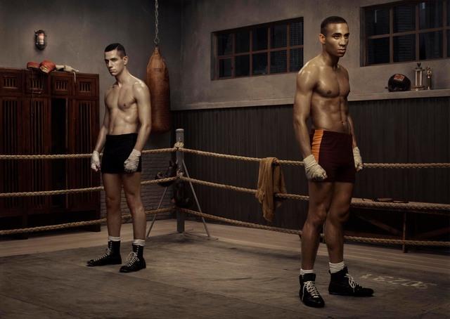 , 'The Boxing School,' 2005, Edwynn Houk Gallery